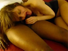 Black Amateur Fucking Very Hard White Woman in Interracial