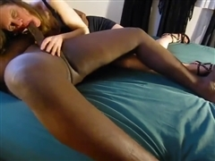 Black Creampie in White Wife Pussy Video Clip