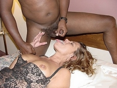 Shared White Wife Receives Cum from BBC Porn Photo