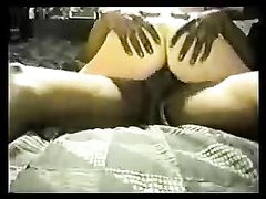 Black Stud Cums Hard in White Wife