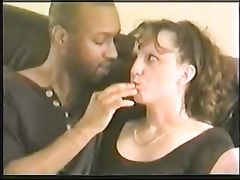Hot Brunette Wife Shared by Husband with Black Friend