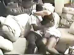 English Wife Enjoys Interracial Sex with Black Friend