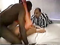 Hot Cuckold Interracial Creampie and Pussy Licking After