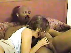 Black Boss Fucks My Amateur Wife with His Big Cock in Hotel