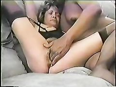 Slut Wife Fisting and Creampie with BBC in Interracial Video