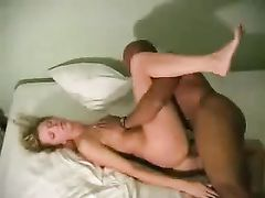 Black Friend Making Sweet Love with White Wife and Cumming