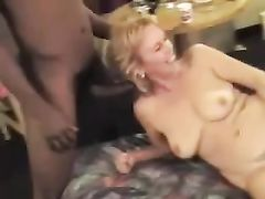 Interracial Sex Orgy with Cuckold White Wife and Black Men