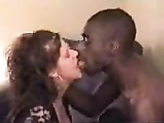 Amateur White Woman Cheating with Black Boss