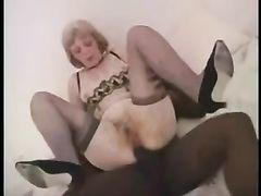 Black Bull Satisfies White Wife