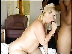 Blonde Hard Fucked by Big Black Cock