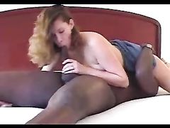 Brunette Wife with a Black Bull