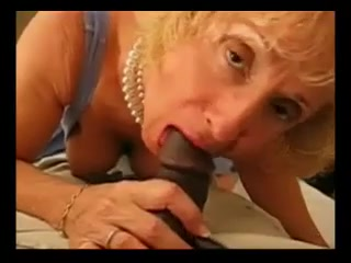 Granny Riding Big Black Cock