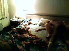 Woman Getting Filmed Fucking In Motel Room