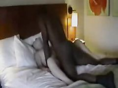 Husband Films Wife with Black Family Friend at the Hotel Room