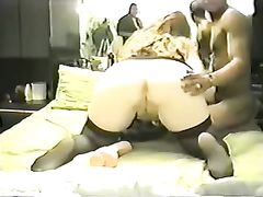 Wife Sucks Husbands Cock While Getting Fucked