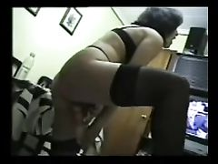 Mature White Woman Testing First Time Black Cock