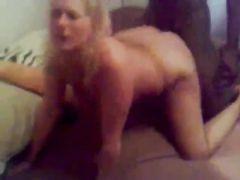Mature Blonde Woman Black Cock Punishment Sex