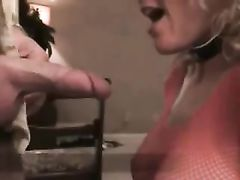 Blonde Mom Takes First Time Black Cock