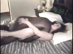 Black Cock Inside This Slutty White Wife