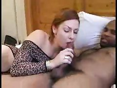 Amateur Wife Shags Black While Husband Watches