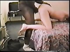 Doggystyle Teen Sex In Bedroom With Black Cock