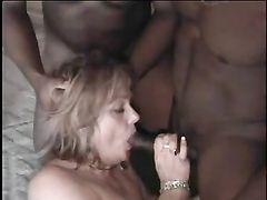 Black Cocks Gang Bang White Wife