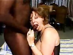 Black Cock For Submissive Mature Wife