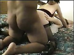Wife Interracial Porn Clip Her Pussy Fucked by Big Cock