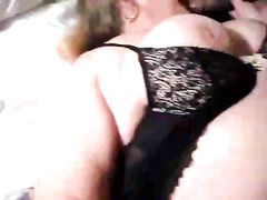 Wifes First Black Cock in Bed Taped on Video