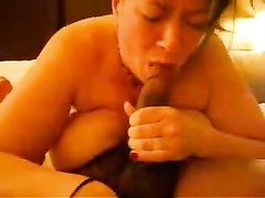 My Wife Gets A Creampie Surprise From Black Man