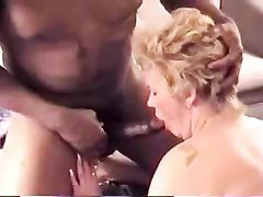 Old Wife And Cuckold Husband Sex With Black Bull