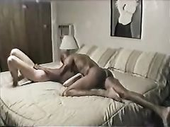 Amazing Interracial Cuckold Sex Video Wife with First Black