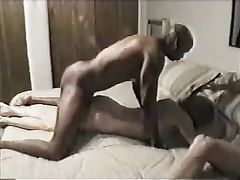 Interracial Sex Video White Wife Breeding with Black Boss