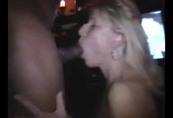 Blondie sucks black cock tube