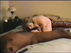 Cuckold Husband Sucks with Wife Big Black Cock