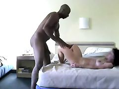 Cuckold Fuck Video BBC Banging Hard White Pussy in Hotel