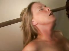 White Slut Gets Fucked by Big Black Stud in the Trailer Park