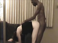Wife on Phone with Her Husband While Being Fucked by BBC