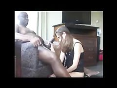 Cuckold Husband Films His Submissive Wife Being Slave for BBC