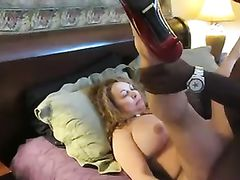 Mature Mom Being Fucked by Black Man While Cuck Hubby Films