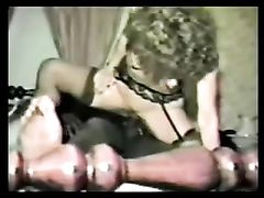 Vintage Porn Movies Hot White Mom in Interracial Sex with BBC