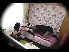Blindfolded Chinese Girl Fucked by Black Stud on Hidden Cam