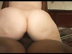 Dirty White Mommy Enjoys Sucking and Having Sex with Black