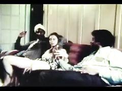 Interracial Vintage XXX Video White Slut Fucking with Blacks
