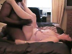 Watching my Slut Wife Fucked Hard by Black Man I Hired