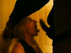 White Mom Caught Giving Head Blowjob to Black Man