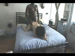 Big Black Thick Cock Makes White Pussy Scream of Pleasure