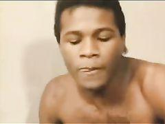 Hot Vintage Interracial Sex Video Sexy Redhead with Black Stud