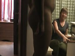 Mom Has a Big Surprise Seeing Black Cock