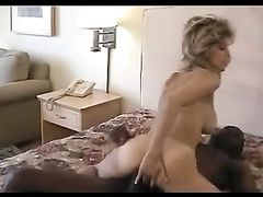Milf Loves Big Black Cock in Her Tight Wet Pussy